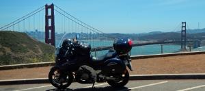 Golden Gate V-Strom