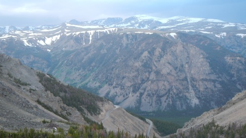View from Beartooth Pass, MT