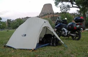 V-Strom-Camping-Devils-Tower