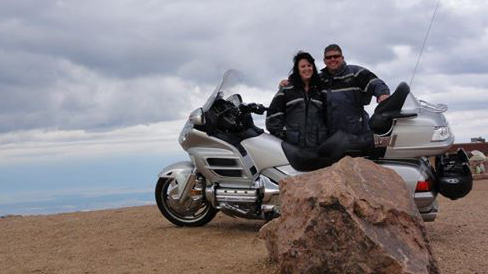 Me and Tina Pikes Peak edit