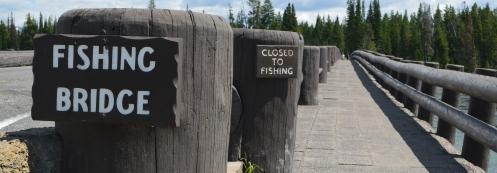 Fishing Bridge Closed