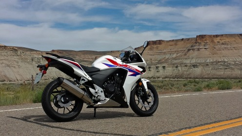 CBR500R Fire Hole Canyon